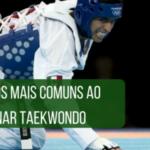10 erros mais comuns ao treinar Taekwondo
