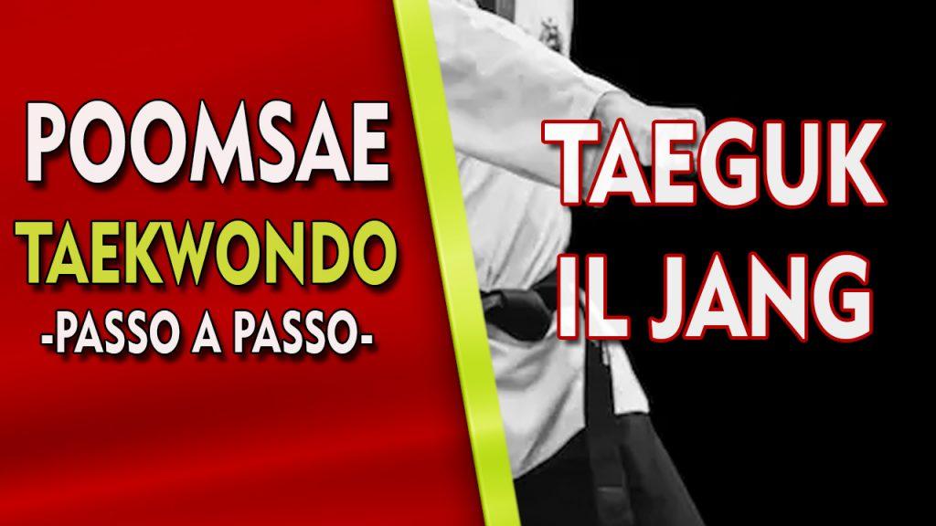 poomsae taekwondo taeguk il jang
