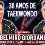 Técnico da Seleção Militar de Taekwondo, Grão Mestre Belmiro Giordani